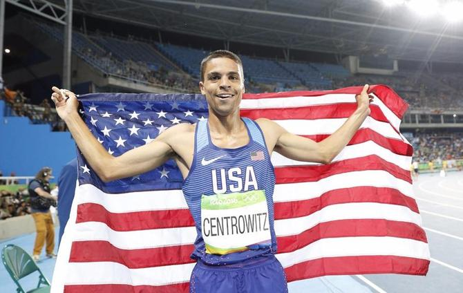 Olympics: American Centrowitz stuns favourites for 1500m ...