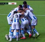 Betis Players Protest Following Controversial Juanmi Goal