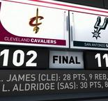 GAME RECAP: Spurs 114, Cavaliers 102
