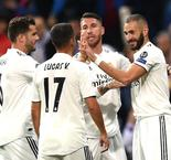 Real Madrid 2 Viktoria Plzen 1: Benzema and Marcelo's goals give holders first win in six
