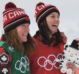 Olympics: Serwa leads Canada 1-2 in women's skicross