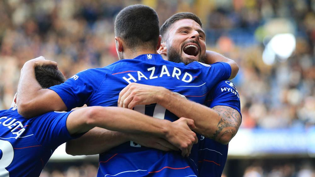 Eden Hazard and Olivier Giroud - cropped