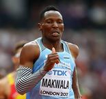 Makwala qualifies for 200m semi-finals after solo run