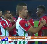 Palestino Advance Past Independiente Medellin On Penalties