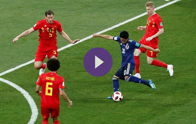 2018 FIFA World Cup- Belgium Vs Japan- Live Updates! Live Streaming Information, Predicted Teams ...
