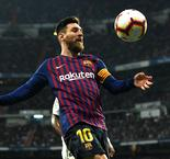 'Extraterrestrial' Messi Is Fine After Physical Clasico, Says Barcelona Boss Valverde