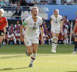 Rapinoe Penalties Help USWNT Sneak Past Spain, 2-1, In Women's World Cup Round Of 16