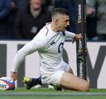 May's hat-trick helps England hammer Les Bleus