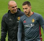 It could be the best time - Martinez hints at Hazard Chelsea exit