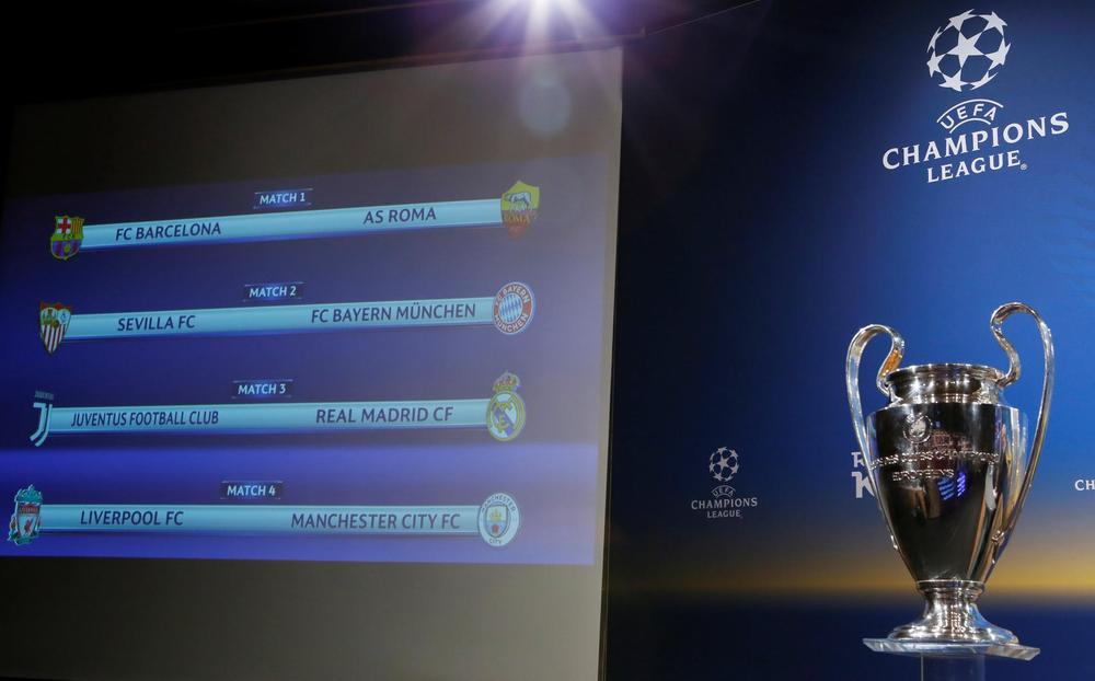 Champions League Draw Highlighted By Final Rematch