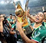 Jesus emotional after Palmeiras title win