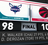 GAME RECAP: Raptors 103, Hornets 98