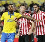 Las Palmas 3-1 Athletic Club: El Athletic se queda sin los puntos y sin Aduriz