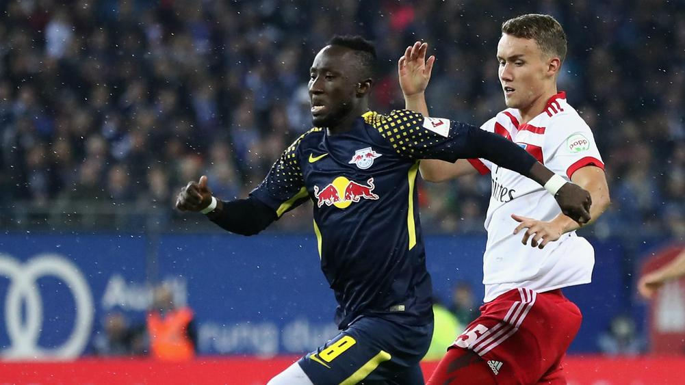 Leipzig down Hamburg 2-0 in Bundesliga