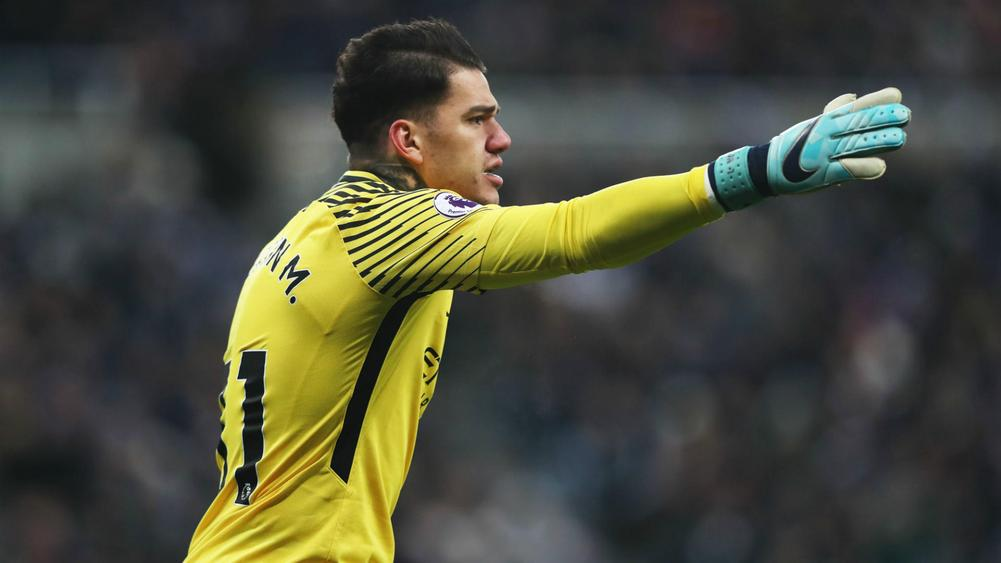 Man City goalkeeper Ederson believes he could play in midfield