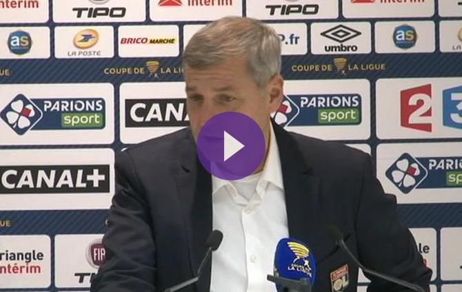 Coupe de la ligue lyon bruno genesio je n ai pas - Resultat coupe de la ligue en direct ...