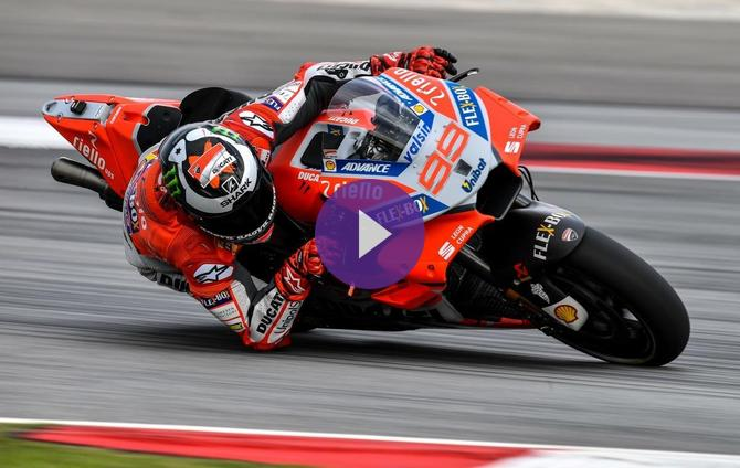 Lorenzo Clocks Fastest-Ever Sepang Lap