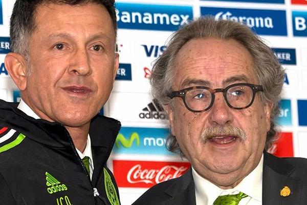 Juan Carlos Osorio presented as new Mexico coach