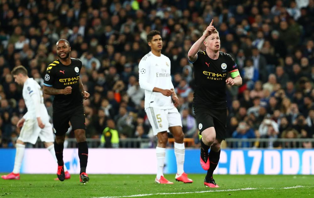 Real Madrid Collapse In Defeat To Manchester City