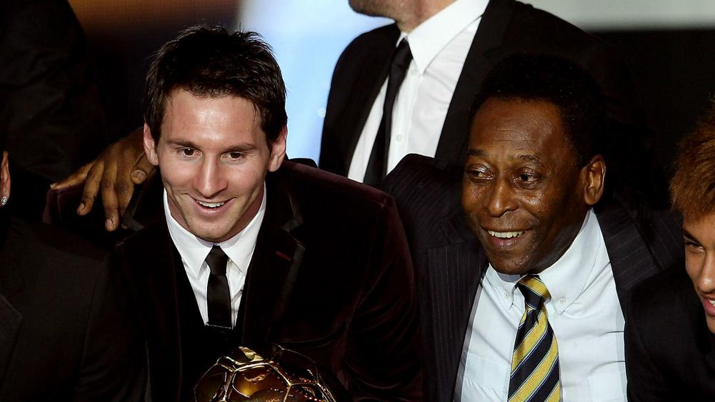 Pele shreds Messi, says not as good as he is