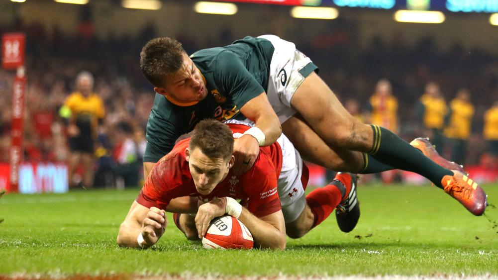 Wales secure November sweep with 20-11 win over Springboks