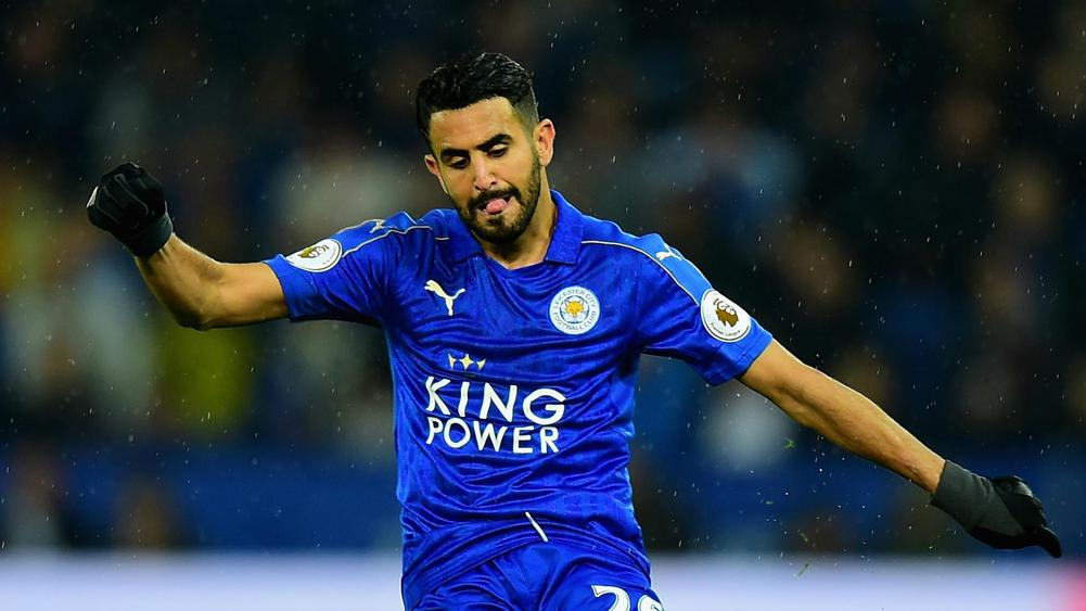 Arsenal unwilling to pay £50 million for Riyad Mahrez
