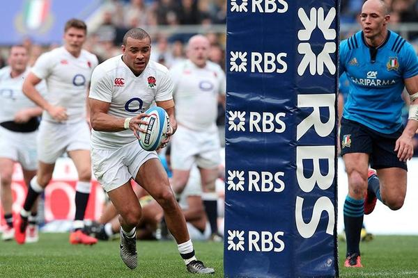 6 Nations: Jonathan Joseph hat-trick seals England win over Italy