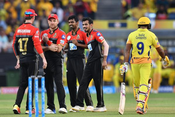 Chennai Super Kings v Royal Challengers Bangalore