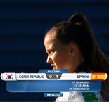 World Cup - Women U17: Korea Republic 0 Spain 4