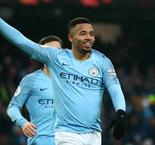 Jesus bags two as Manchester City goes top