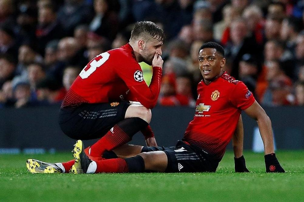 Man Utd: Martial et Lingard incertains contre Chelsea