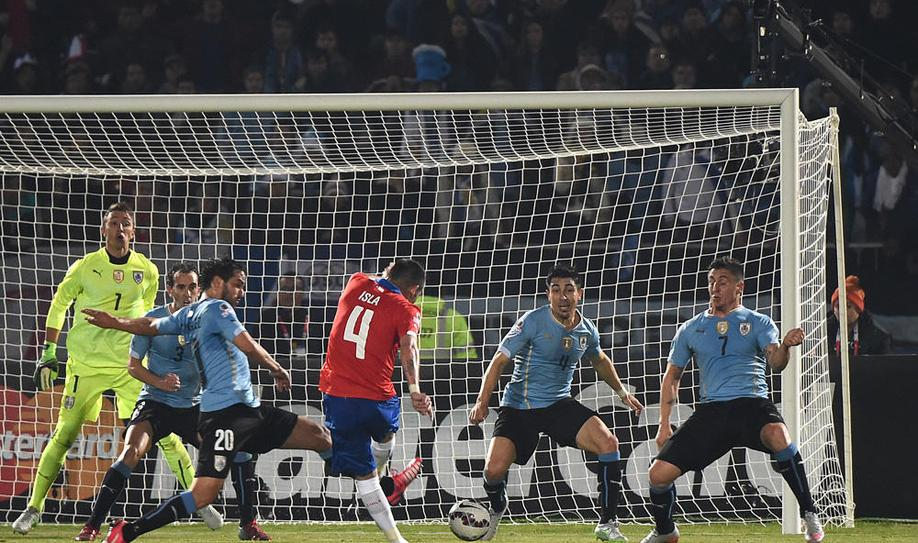Chile outclasses Uruguay to reach Copa Semi-Finals
