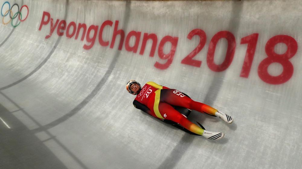 one-two for Germany in the women's luge as Geisenberger ...