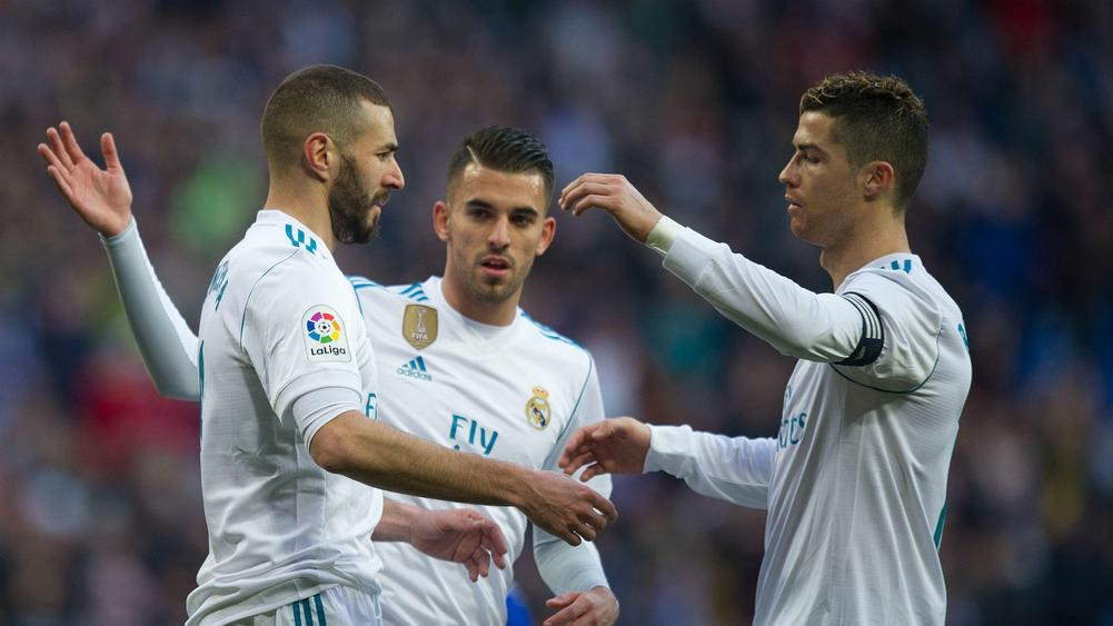 Real Madrid 4 Alaves 0: Ronaldo at the double as ´BBC´ delight