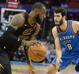 James scores 37 as Cavaliers roll over Thunder