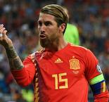 Record-equalling Ramos moves level with Casillas as Spain's most-capped player