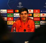 Courtois supports VAR introduction as Madrid get ready for Ajax test