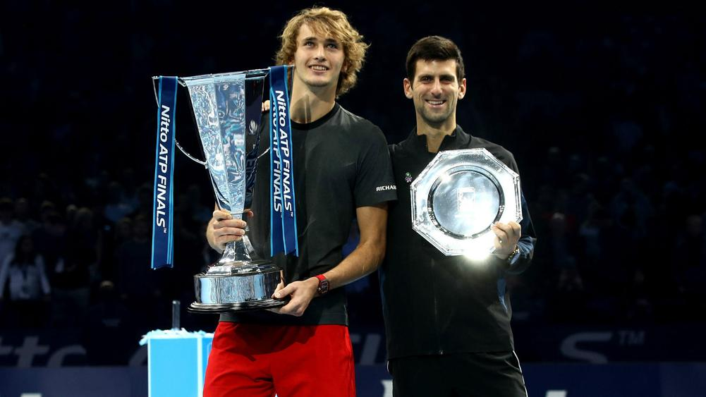 Djokovic Sets up ATP Finals Title Clash With Zverev Anderson
