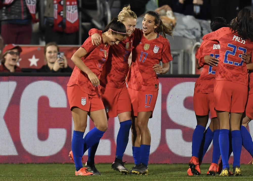 premium selection afa27 7d252 USWNT Announce 23-Player Roster For 2019 World Cup In France