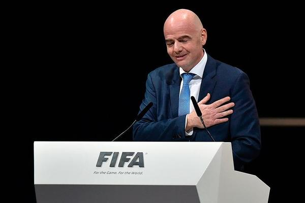 Infantino elected new FIFA president