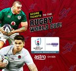 CONTEST: Score Tickets to the Rugby World Cup!