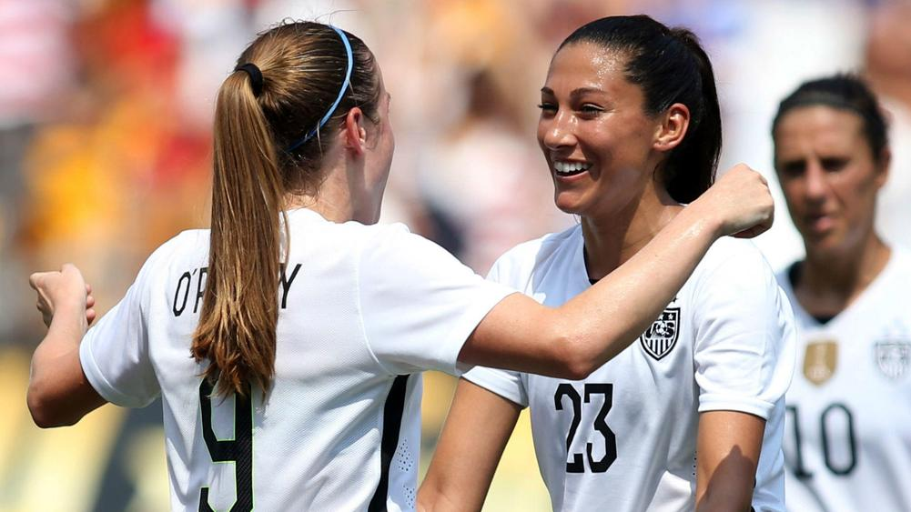 United States women begin Victory Tour with thumping win ...