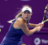 World No.1 Wozniacki Cruises Through Qatar Open Second Round
