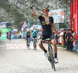 Yates back in red after stage 14 surge
