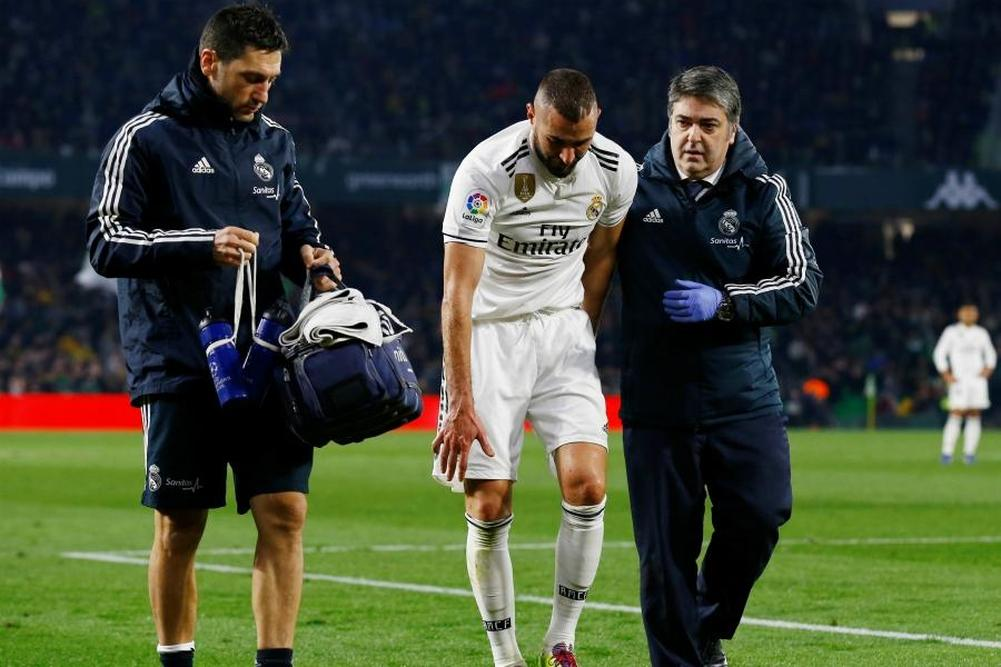 Real Madrid: Benzema sorti sur blessure