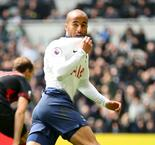 Lucas hat-trick fires Tottenham up to third