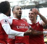 Aubameyang double inspires thrilling derby triumph