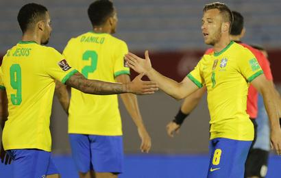 Arthur Delights In 'Essential' Goal After Opening Brazil Account
