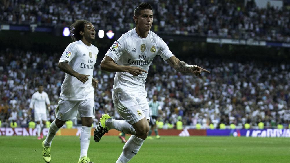 Confirmed Real Madrid XI: Benzema, Bale and James not involved
