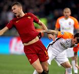 I stayed for games like that, says Roma match-winner Dzeko